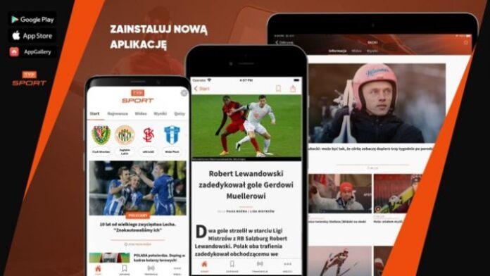 Nowa aplikacja mobilna TVP Sport już dostępna