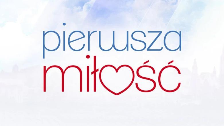 Serial Pierwsza Miłość (logo) emitowany w Polsat i platformie IPLA