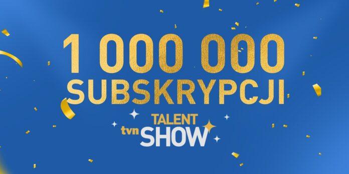TVN Talent Show ze złotym przyciskiem YouTube'a!